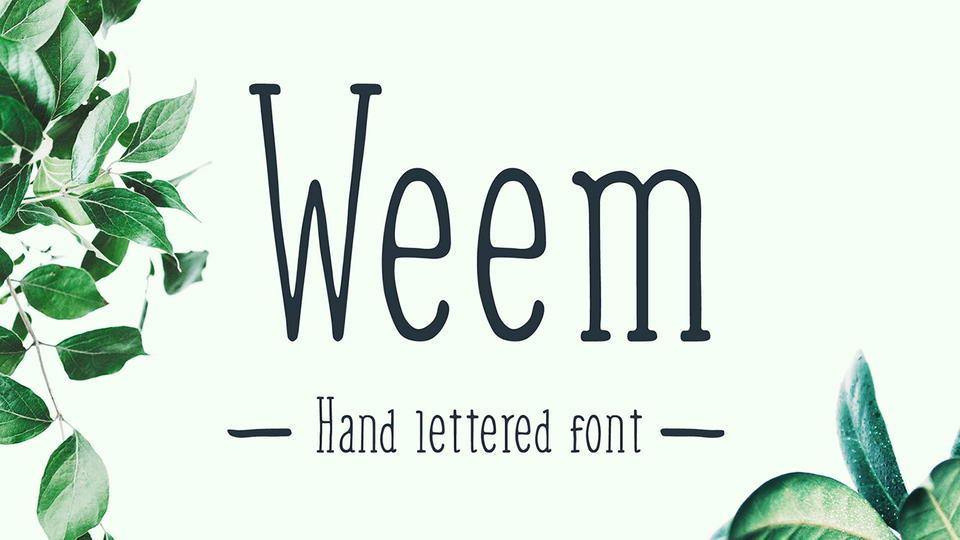 weemfreefont