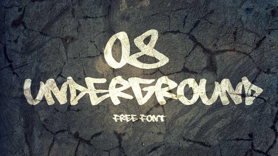 08undergroundfreefont