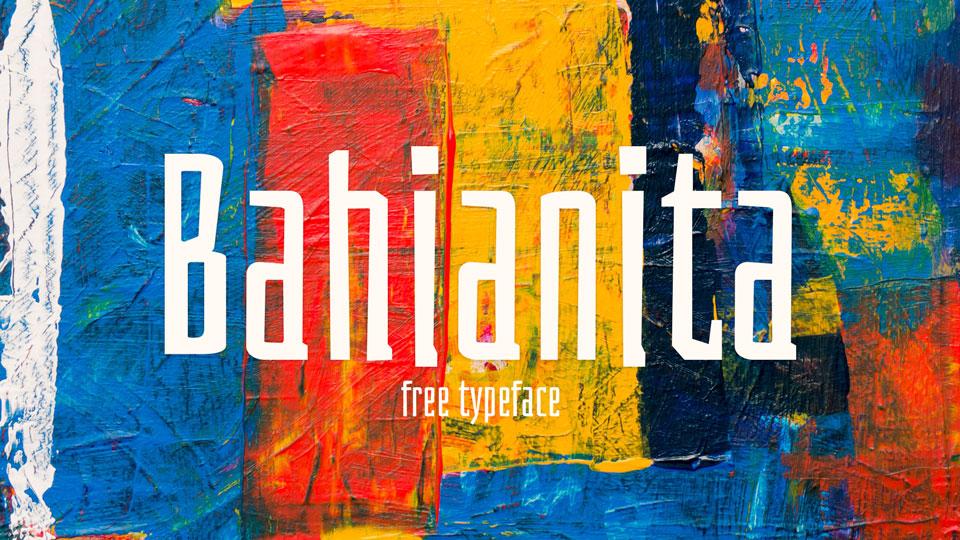 bahianitafreefont