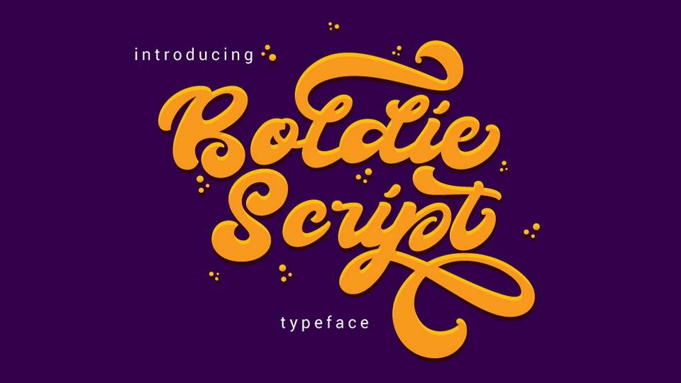 boldiescriptfreefont