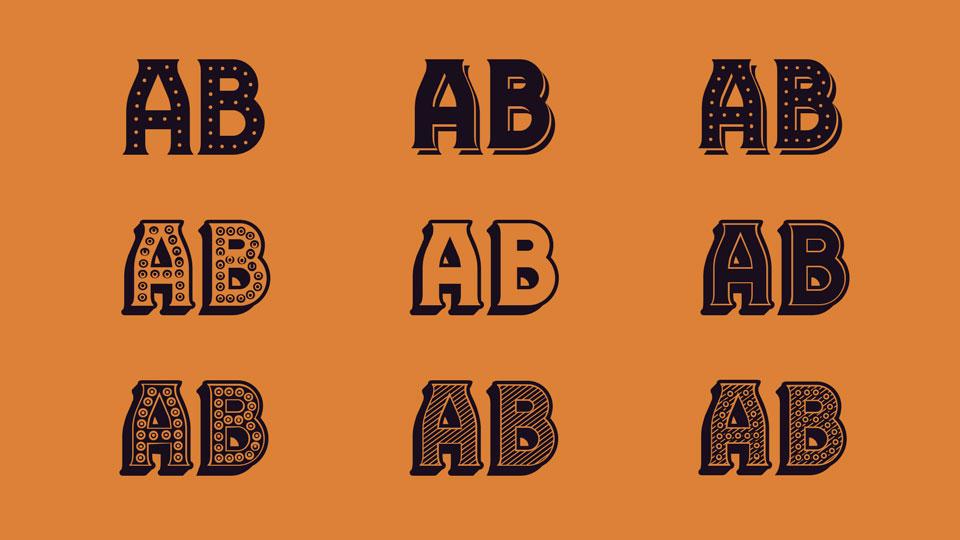 Free Casino Style Font
