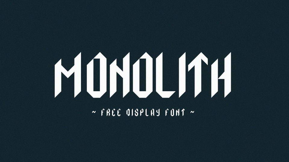 monolithfreefont