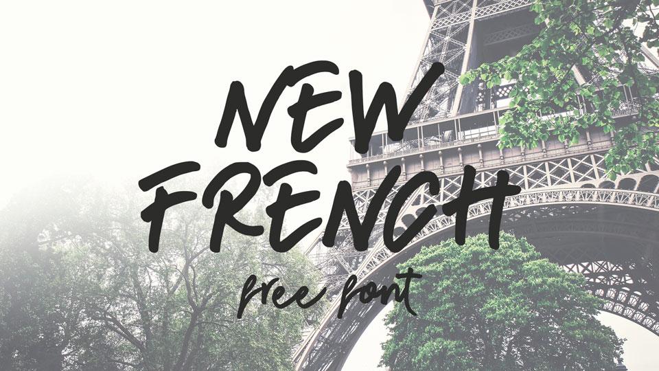 newfrenchfontfree