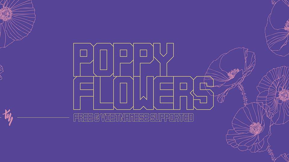 poppyflowersfreefont