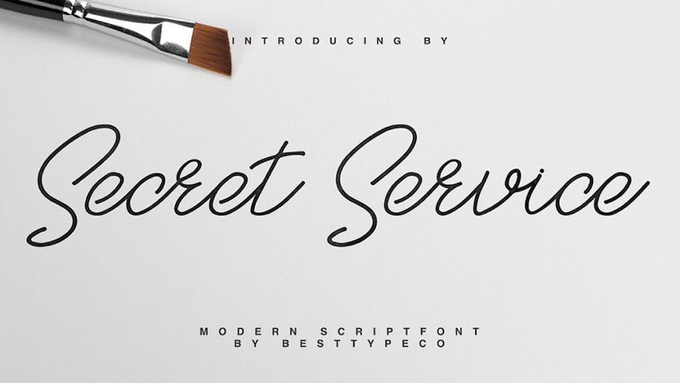 secretservicefreefont