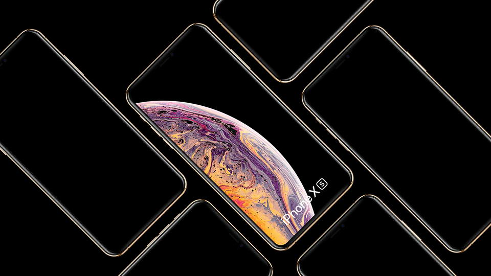 Free iPhone Xs & Xs Max Mockups