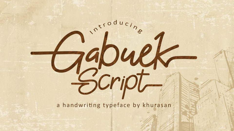 gabuekscriptfreefont