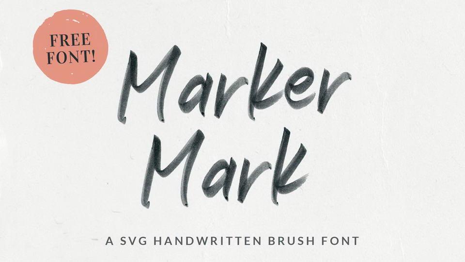 markermarkfreefont