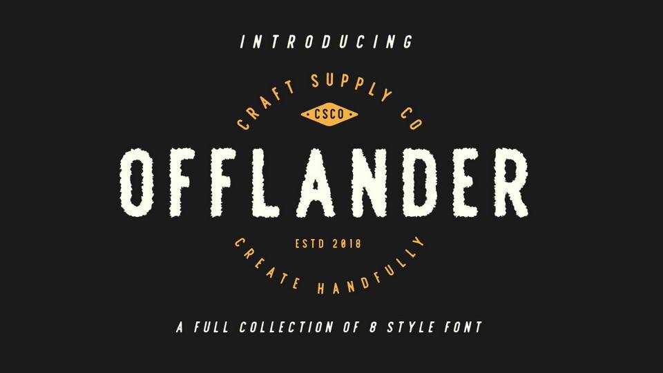 offlanderfreefont