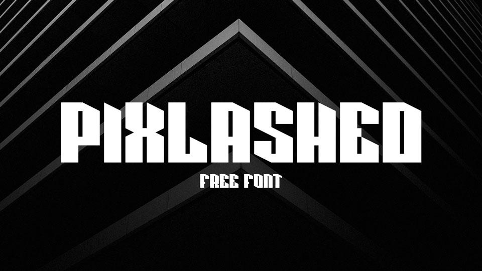 pixlashedfreefont