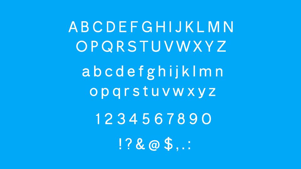 Breite Free Typeface Pinspiry