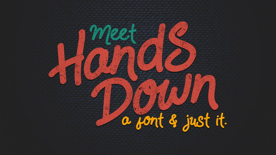 handsdownfreefont