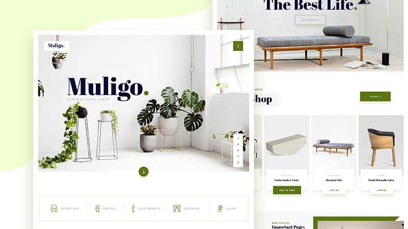 Home Decor Website Free Psd Pinspiry
