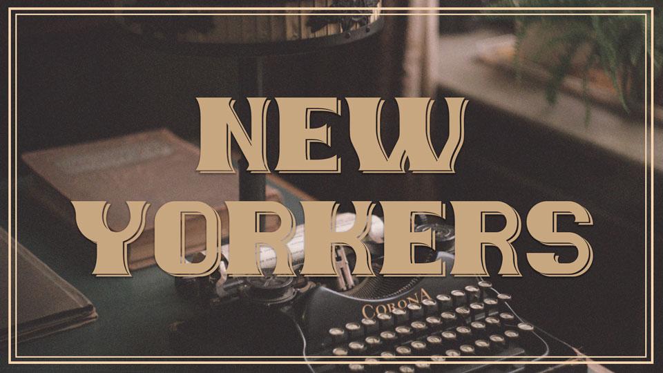 newyorkersfreefont