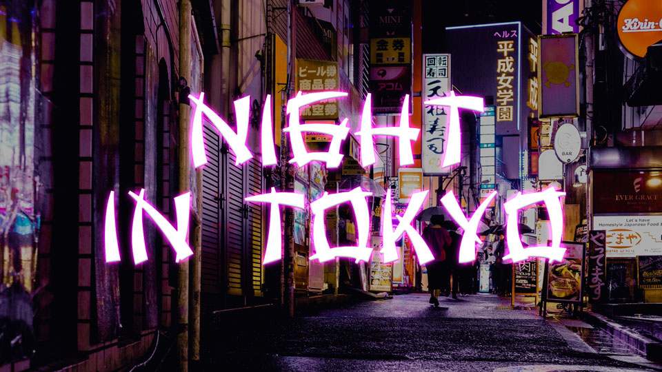 nightintokyofreefont