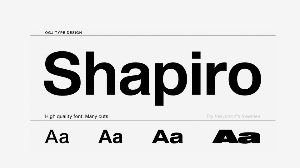 shapirofreefont