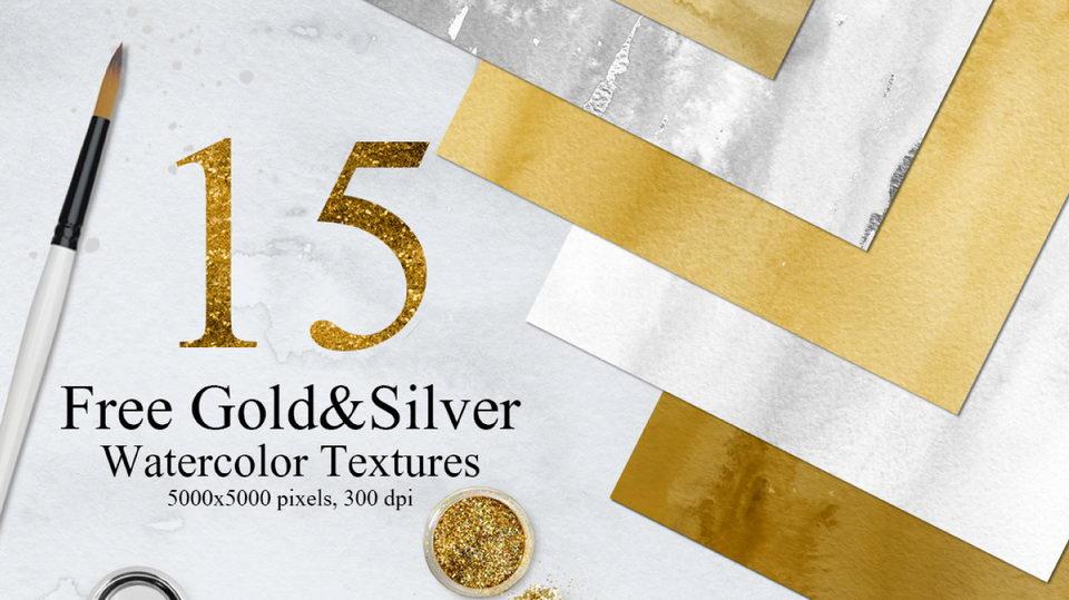 silvergoldwatercolors