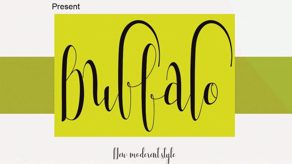 buffalofreefont
