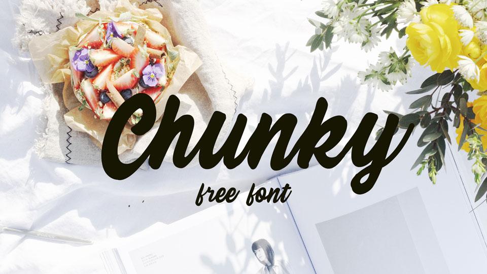 chunkyfreefont
