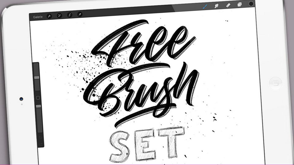 freeprocreatebrushset