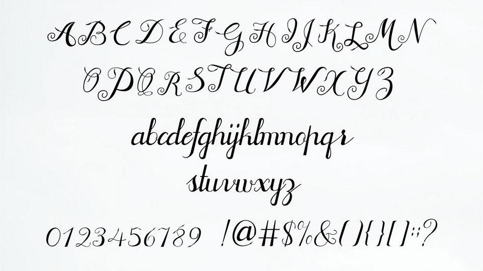 Jofi Script Free Font · Pinspiry