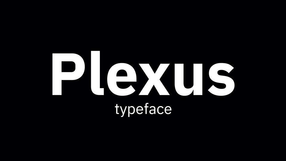 plexusfreefont