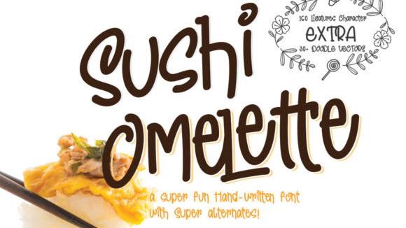 Sushi-Omelette-by-lemoncraft-580×385