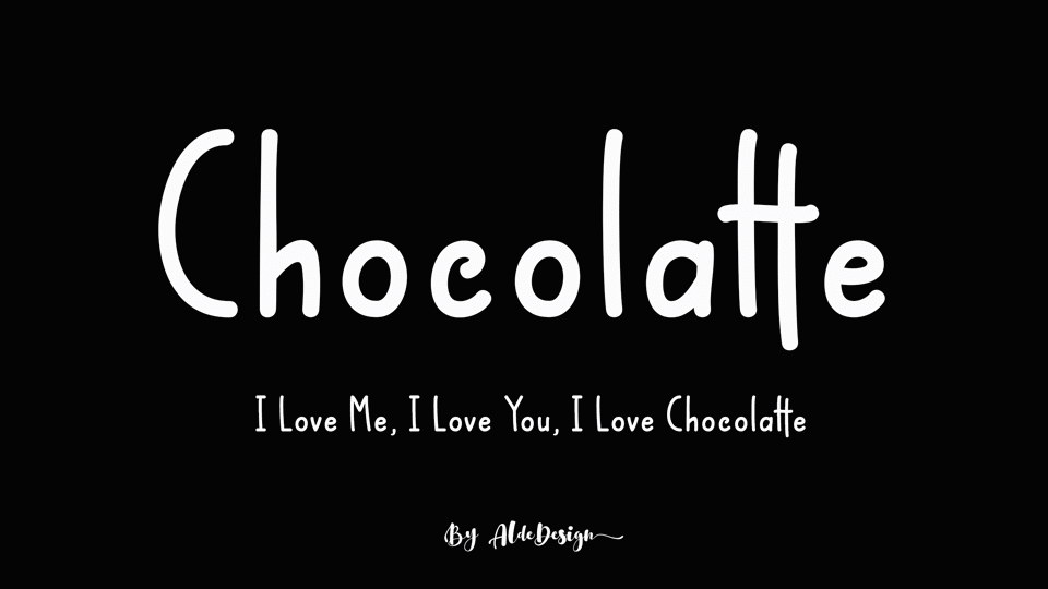 chocolattefont