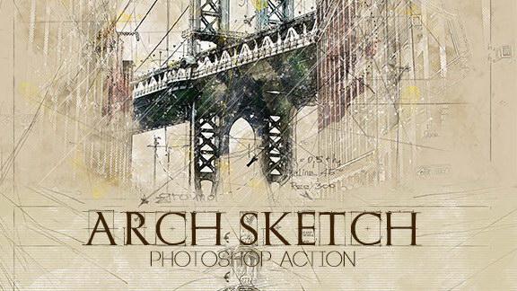 Arch Sketch_Pre_8k