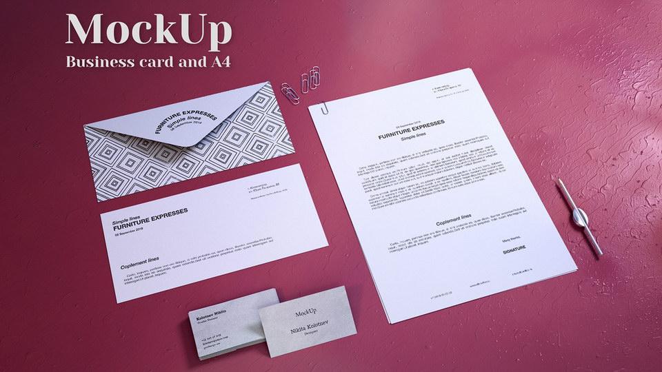 a4_business_card_mockup