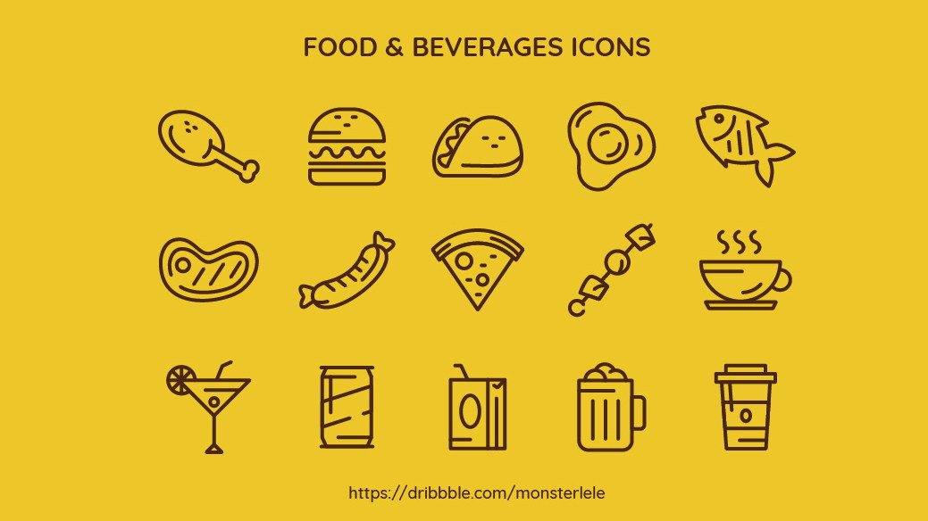 food_beverages_icons
