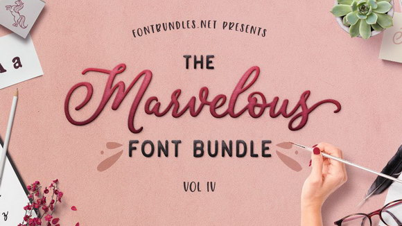 The-Marvelous-Font-Bundle-Vol-IV-Main