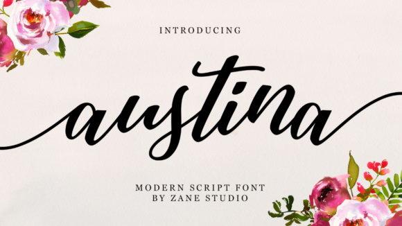 Austina-Script-by-zanestudio55-580×386 (2)