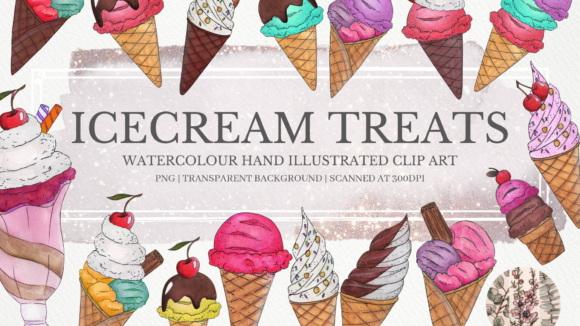 Ice-Cream-Treats-Clipart-Set-Graphics-8679933-1-1-580×435