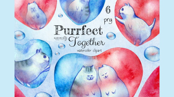 Watercolor-Valentine-Cats-Heart-Clipart-Graphics-7980388-1-1-580×387 (2)
